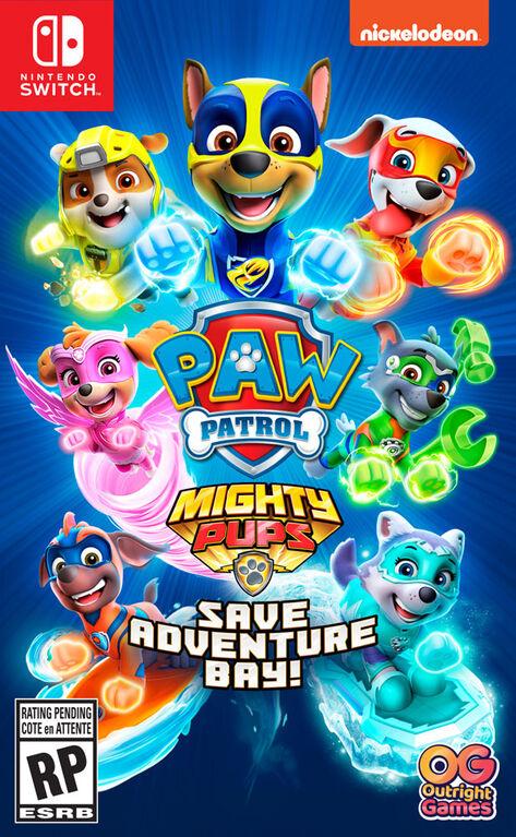 Nintendo Switch Paw Patrol Mighty Pups