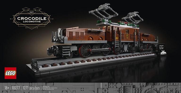 LEGO Creator Expert La locomotive crocodile 10277
