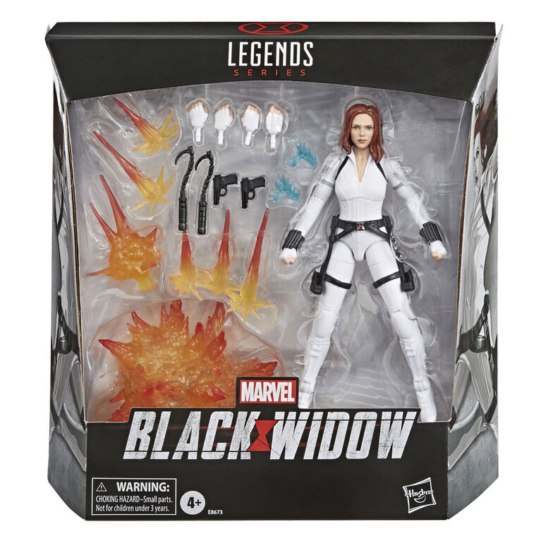 Marvel Black Widow Legends Series Black Widow Action Figure Toy