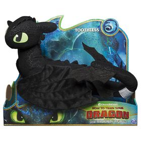 How To Train Your Dragon, Toothless 14-inch Deluxe Plush Dragon - R Exclusive
