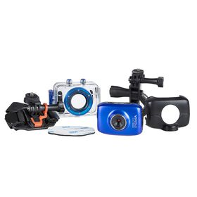 Vivitar - HD Action Camera - Blue