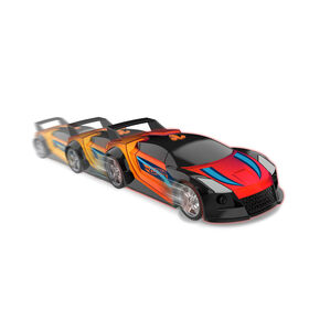 Hot Wheels Color Crashers - Quick n Sik - R Exclusif
