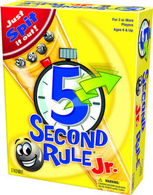 5 Second Rule Jr Game - English Edition