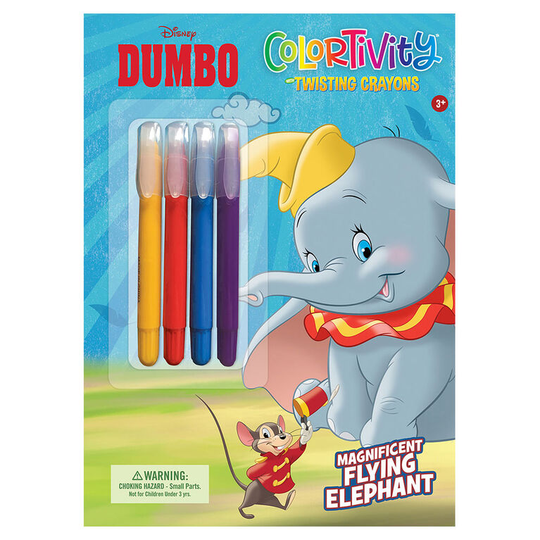 Disney Dumbo w Twist Up Crayons - Édition anglaise
