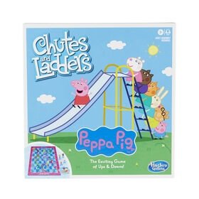 Chutes and Ladders: Peppa Pig Edition Board Game
