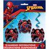 "Spider-Man Hanging Decor 26"", 3 pieces"