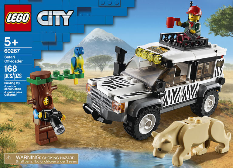 LEGO City Great Vehicles Le 4x4 Safari 60267
