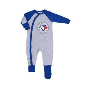 Grenouillère Convert-A-Foot des Blue Jays de Toronto18-24 mois Snugabye.