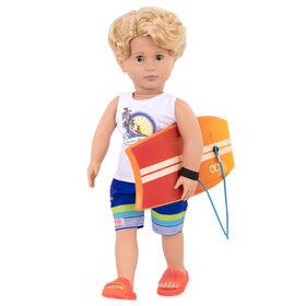 Gabe, Our Generation, Poupée-garçon surfeur de 18po