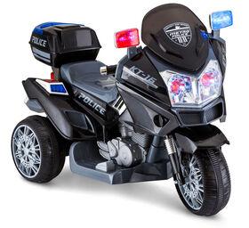 Kid Trax Police Trike 6V Powered Ride On - Black