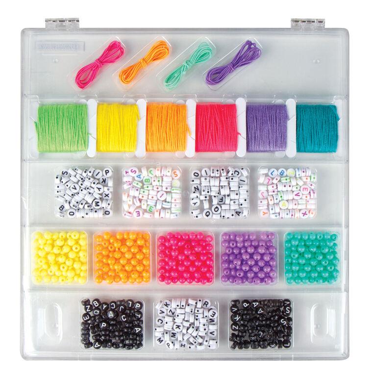 Tell Your Story Alphabet Bead Case Lg Mix/Match