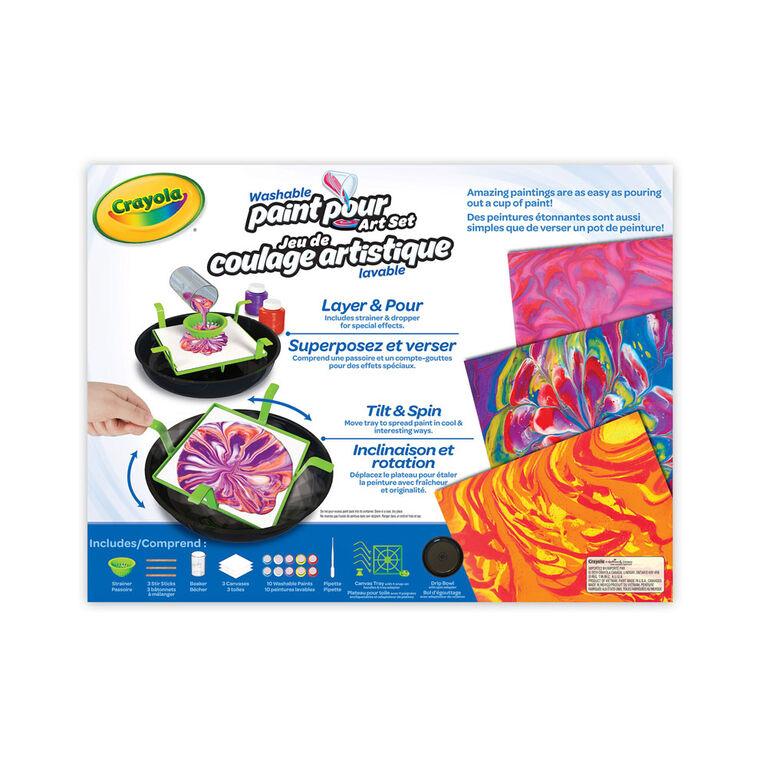Crayola Washable Paint Pour Art Set