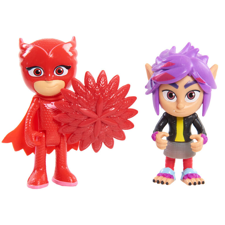 PJ Masks Basic Owlette and Wolfie RIP