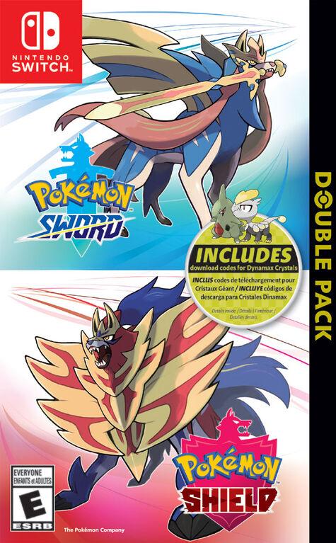 Nintendo Switch - Pokémon Sword and Pokémon Shield Double Pack
