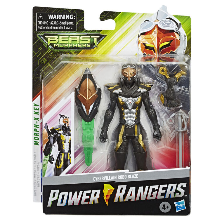 Power Rangers Beast Morphers: Cybervillain Robo Blaze 6-inch - inspired by the Power Rangers TV Show