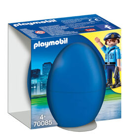 Playmobil Policeman with dog 70085