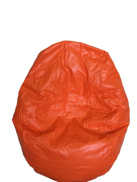 Boscoman - Fun Teardrop Adult Vinyl Bean Bag - Orange