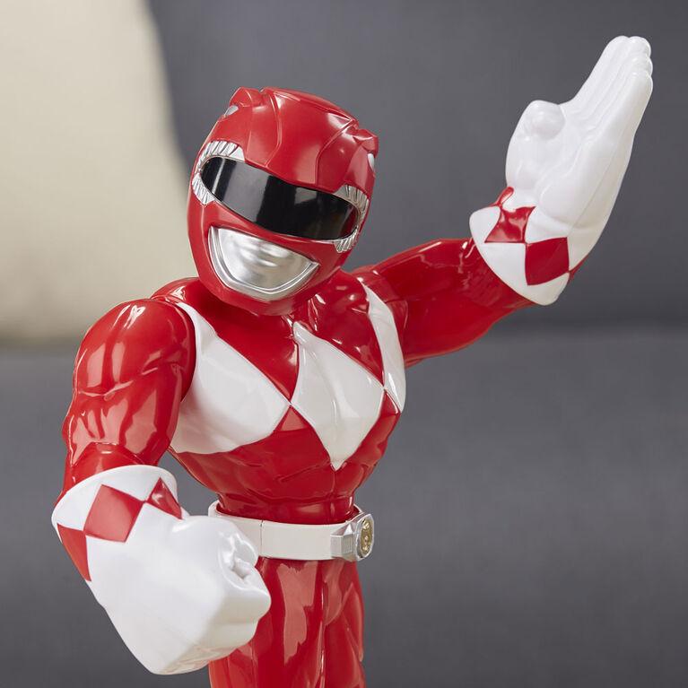 Playskool Heroes Mega Mighties Power Rangers Red Ranger 10-inch Figure