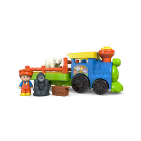 Fisher-Price - Little People - Le train du zoo Choo-Choo