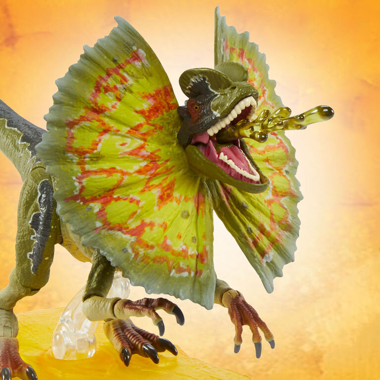 JURASSIC WORLD COLLECTION AMBRE Dilophosaurus