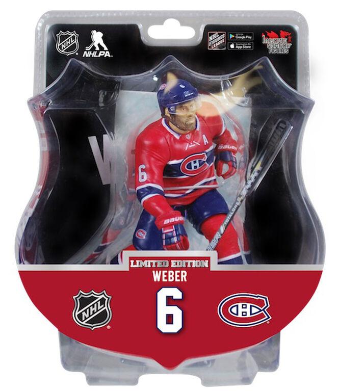 Shea Weber<br>Canadiens de Montréal Figurine de 6 pouces de la LNH.