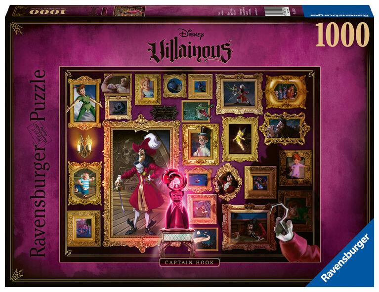 Ravensburger: Villainous Captain Hook 1000 pc Puzzle