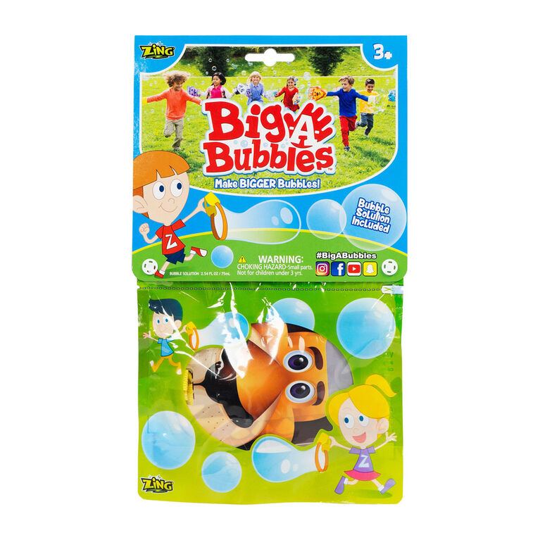 Big a Bubbles - Colours and styles may vary