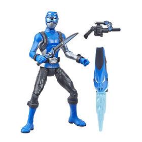 Power Rangers Beast Morphers - Figurine jouet de 15 cm Ranger bleu