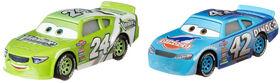 Disney/Pixar Cars Cal Weathers and Brick Yardley