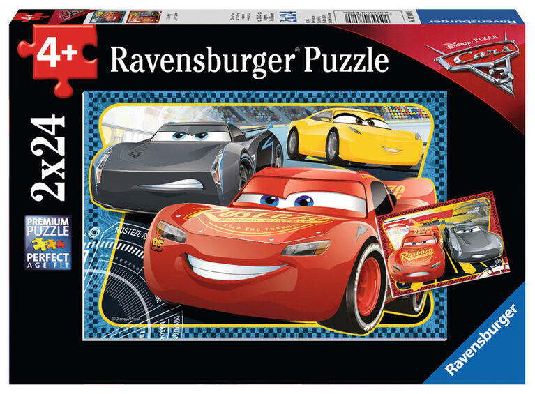 Ravensburger - Disney Pixar Cars 3 - I Can Win! Puzzle 2 x 24pc