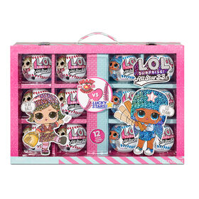 LOL Surprise All Star Sports Ultimate Collection Series 1 with 12 Sparkly Baseball Dolls