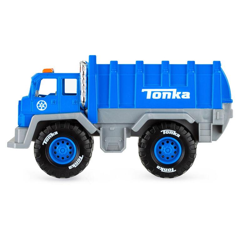 Tonka - Mighty Metal Fleet - Garbage Truck