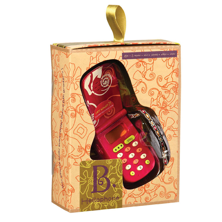 B. Toys Hellophone, Interactive Toy Cell Phone