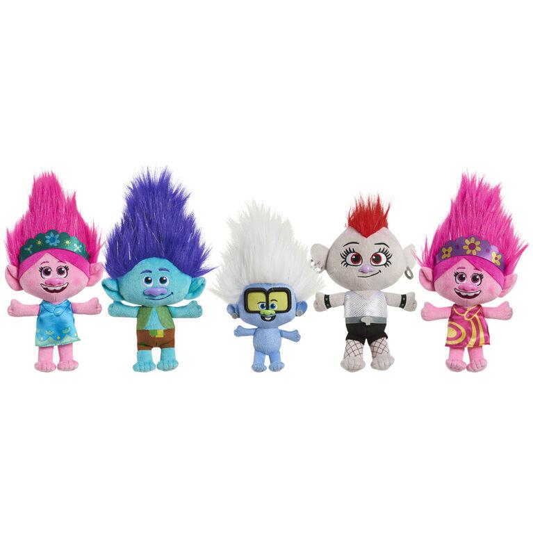 DreamWorks Trolls World Tour 8 Inch Small Plush Poppy