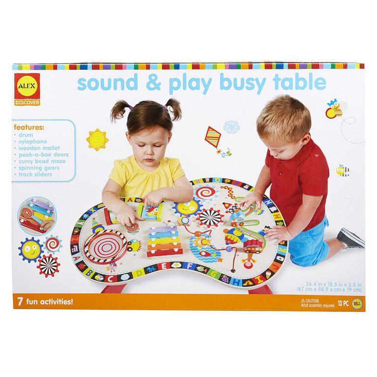 Alex  Sound & Play Busy Table