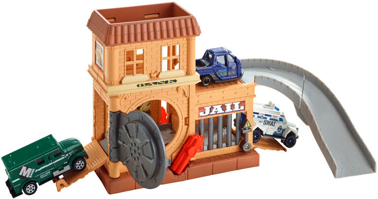 Matchbox Bank Robbery Playset - R Exclusive
