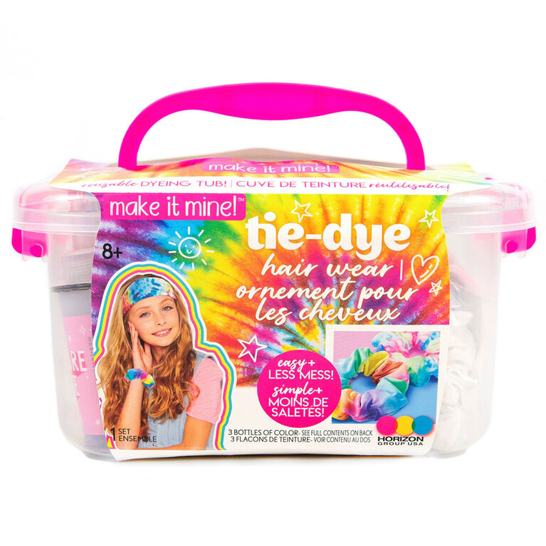 Make It Mine Tie Dye Hair Wear Tub - R Exclusive