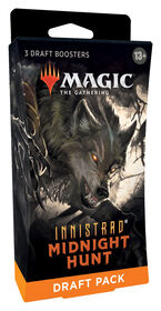 Draft Pack 3 boosters Magic Le Rassemblement Innistrad: Chasse de minuit