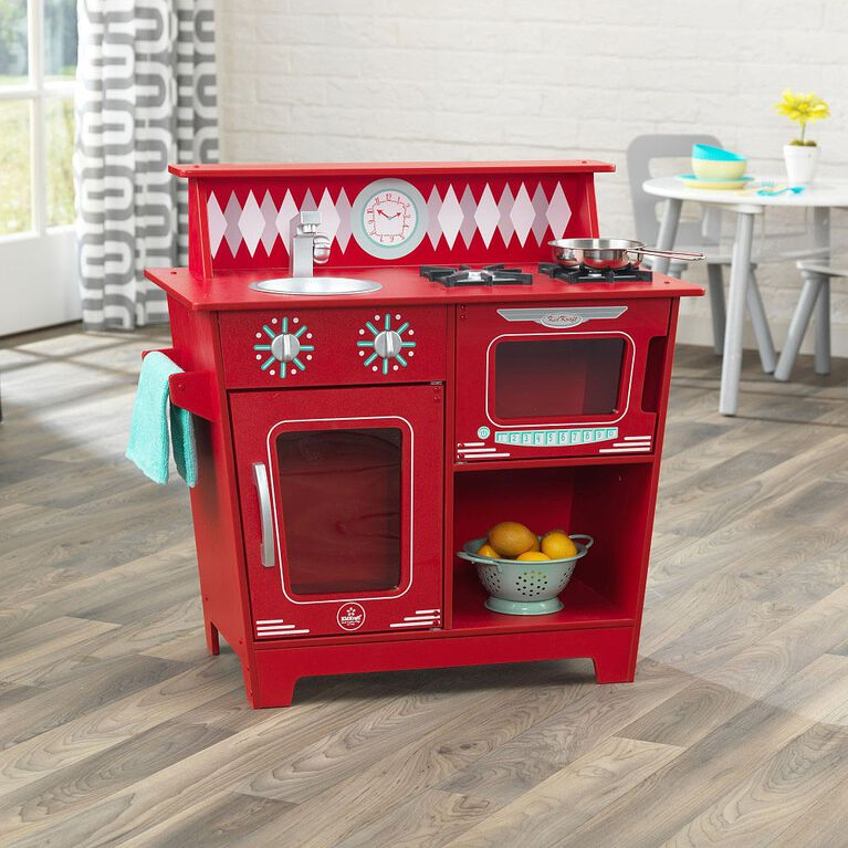 KidKraft - Classic Kitchenette - Red