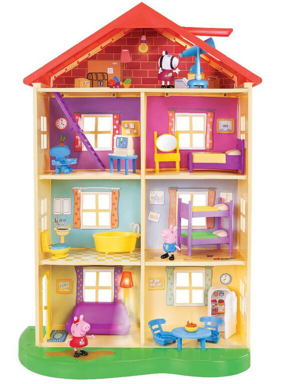 Peppa Pig Lights and Sounds Family Home