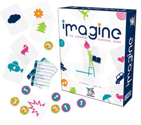 Gamewright - Imagine Jeu