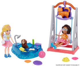 Polly Pocket Wash 'n' Wag Pet Swing