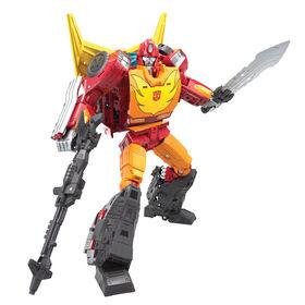 PRÉ-COMMANDE POUR EXPÉDITION LE 25 MAI, 2021 - Transformers Generations War for Cybertron: Kingdom Commander WFC-K29 Rodimus Prime