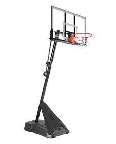 Spalding® Hercules Acrylic Portable Basketball System, 54-in