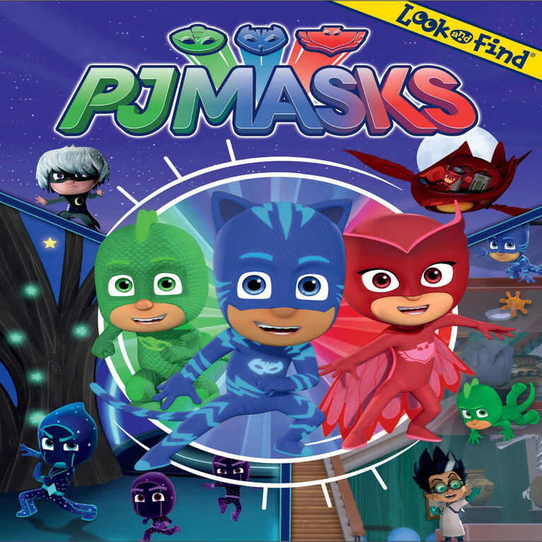 Look And Find Pj Masks - English Edition