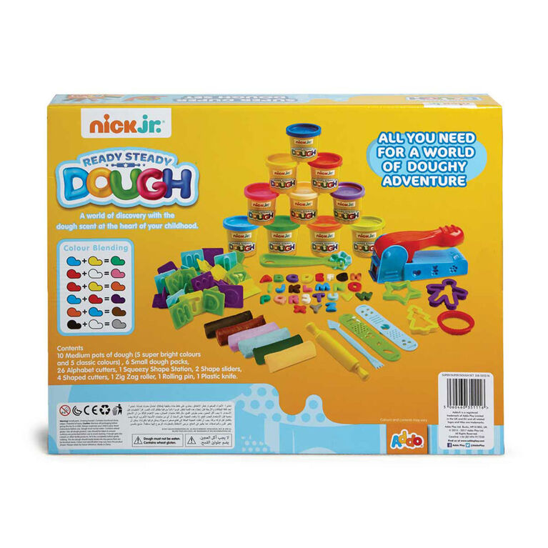 Nick Jr Ready Steady Dough Super Duper Dough Set - R Exclusive