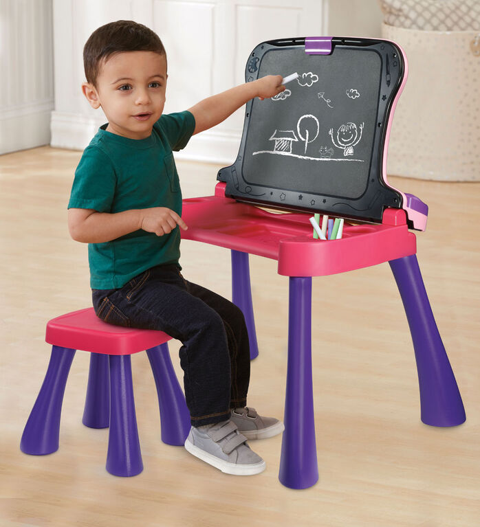 Vtech Explore and Write Activity Desk - Pink - Exclusive - French Edition