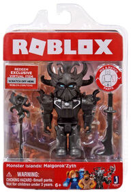 Roblox Monster Islands: Malgorok'Zyth Figure