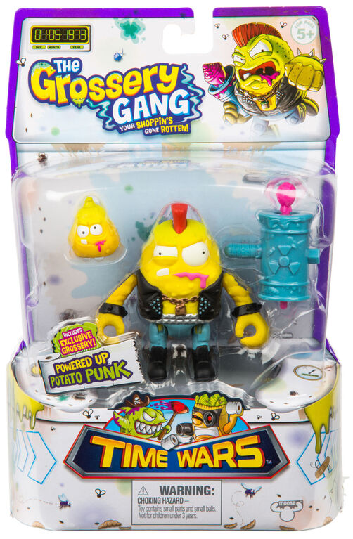 The Grossery Gang Time Wars Wave 2 Action Figure – Potato Punk