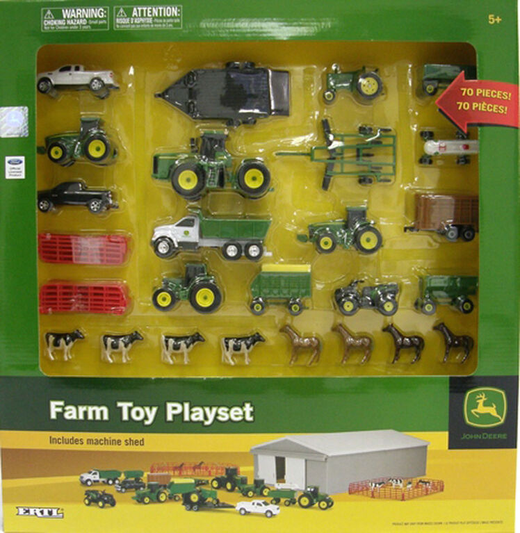 John Deere 70 Piece Value Set - Assortment May Vary